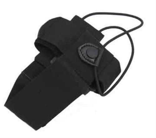 Uncle Mikes Universal Radio Case w/ Swivel Belt Loop Black 88806