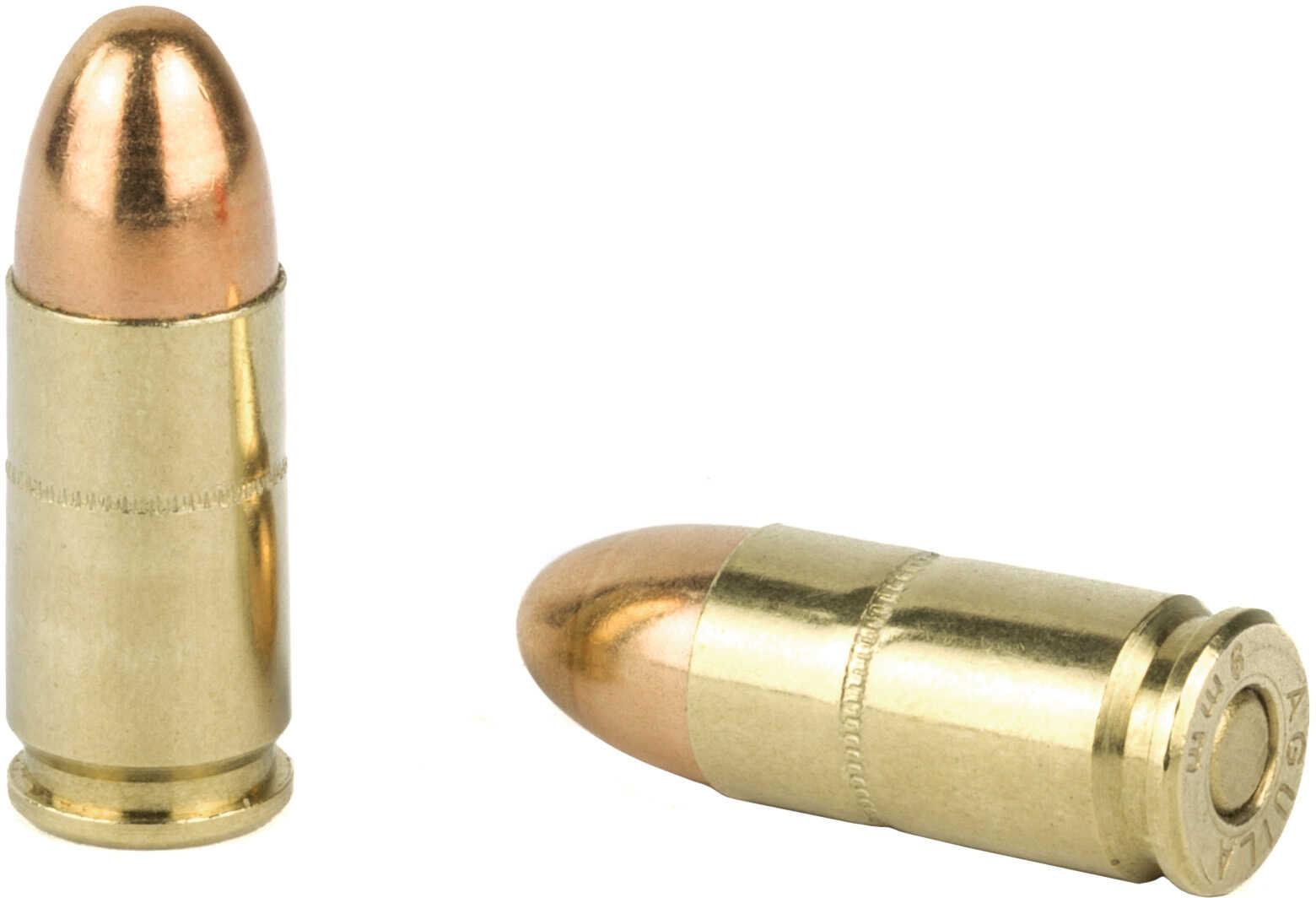 Aguila Ammunition Pistol 9MM 124 Grain Full Metal Jacket 50 Round Box 1E092110
