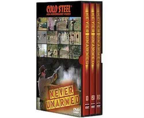 Cold Steel Training DVD Never Unarmed DVD VDNU