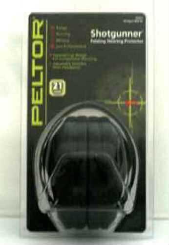 Peltor Passive Hearing Protectors Shot gunner Folding, Black (NRR 21 dB) 97011-00000