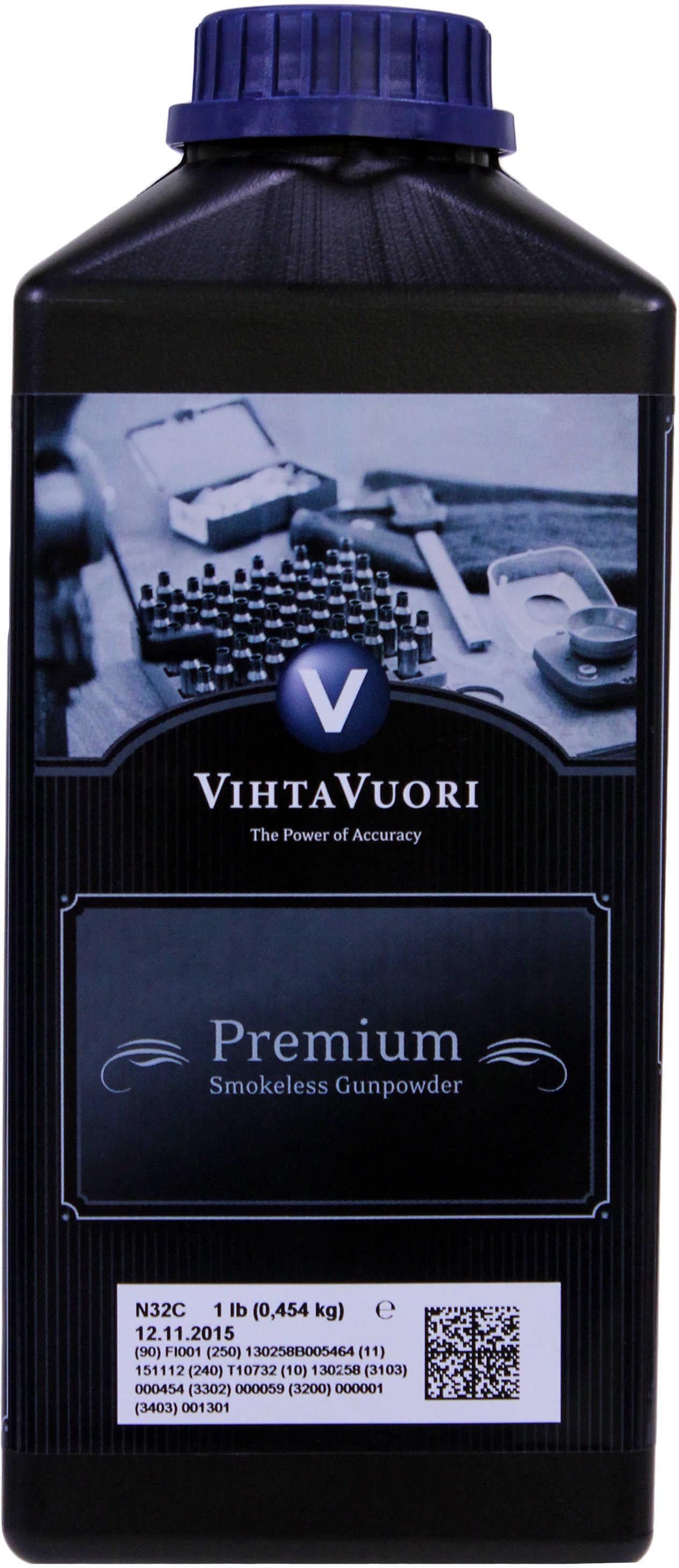 Vihtavuori Powder Tin Star N32C 1Lb for CAS