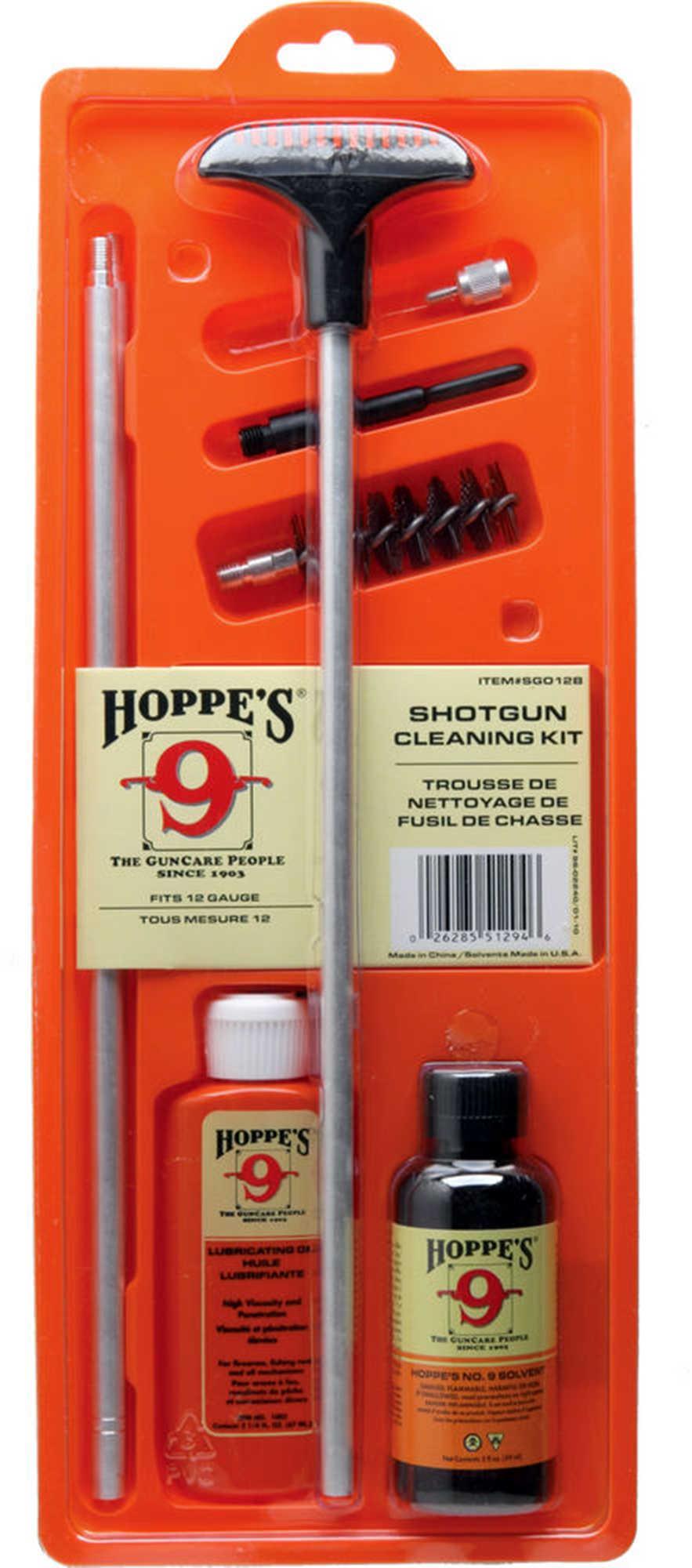 Hoppes Clamshell Kit w/Aluminum Rod 12 Gauge SGO12B