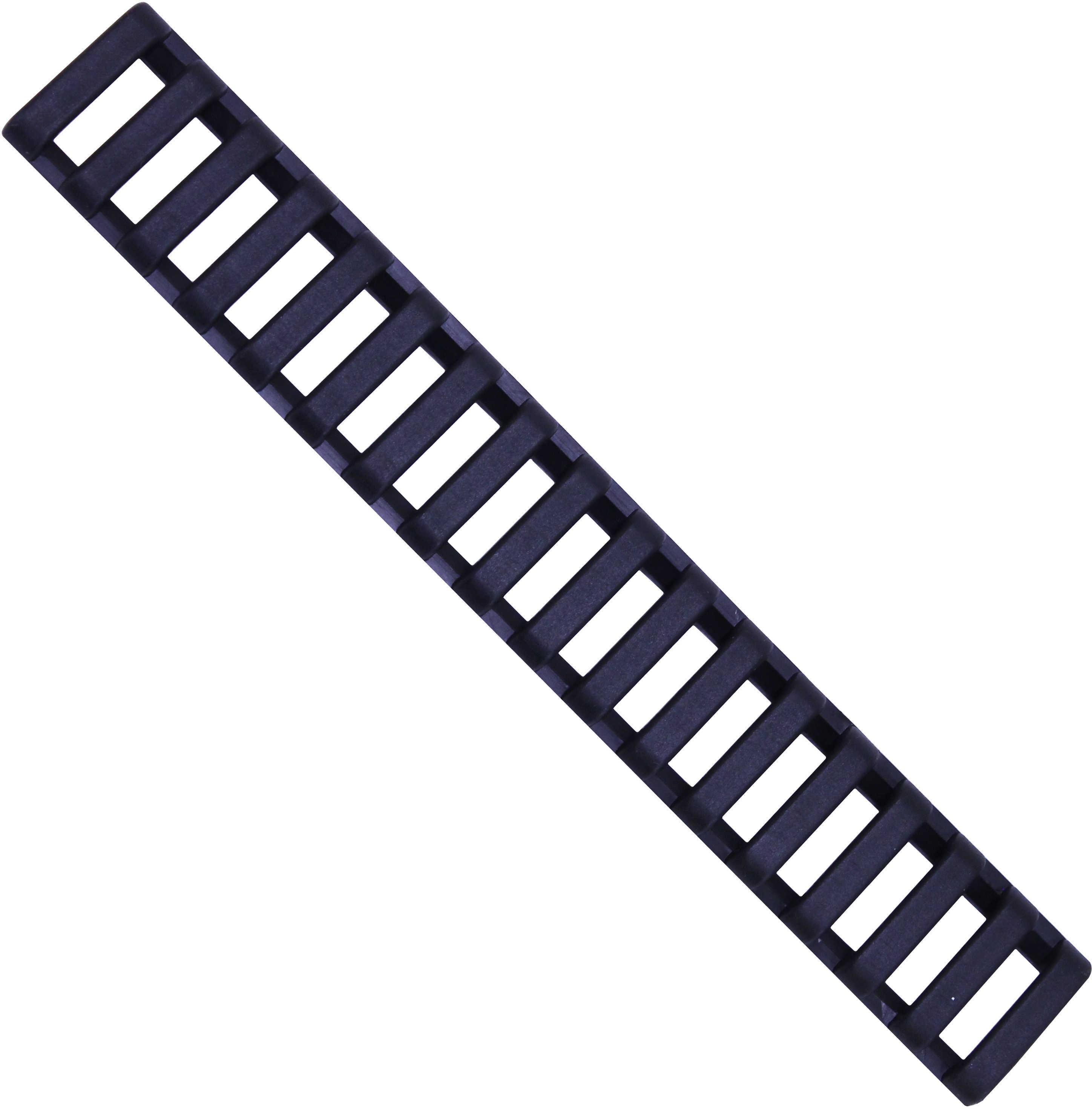 Ergo Ext Rail Length Protector Accessory Black Rail Covers 18 Slot Ladder 4373-3PKBK