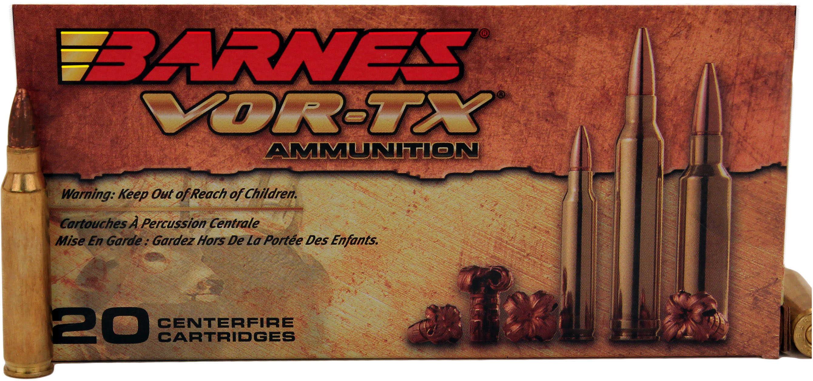 Barnes VOR-Tx 223 Remington 55 Grain Triple Shock X 20 Rounds Ammunition Md BB223R2