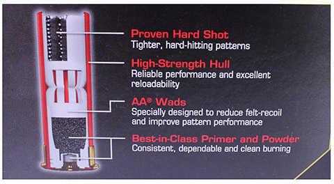 """Winchester AA Target LD 12 Gauge 2 3/4"""" 1 1/8Oz #9 25 Rounds Ammunition AAM129"""
