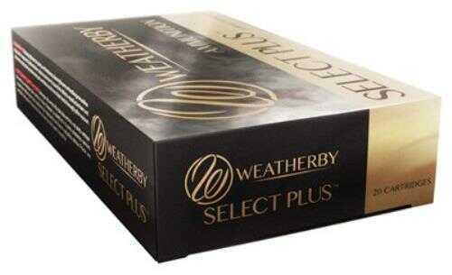 Weatherby Ammunition 257 Weatherby 100 Grain Spire Point 20 Round Box H257100SP