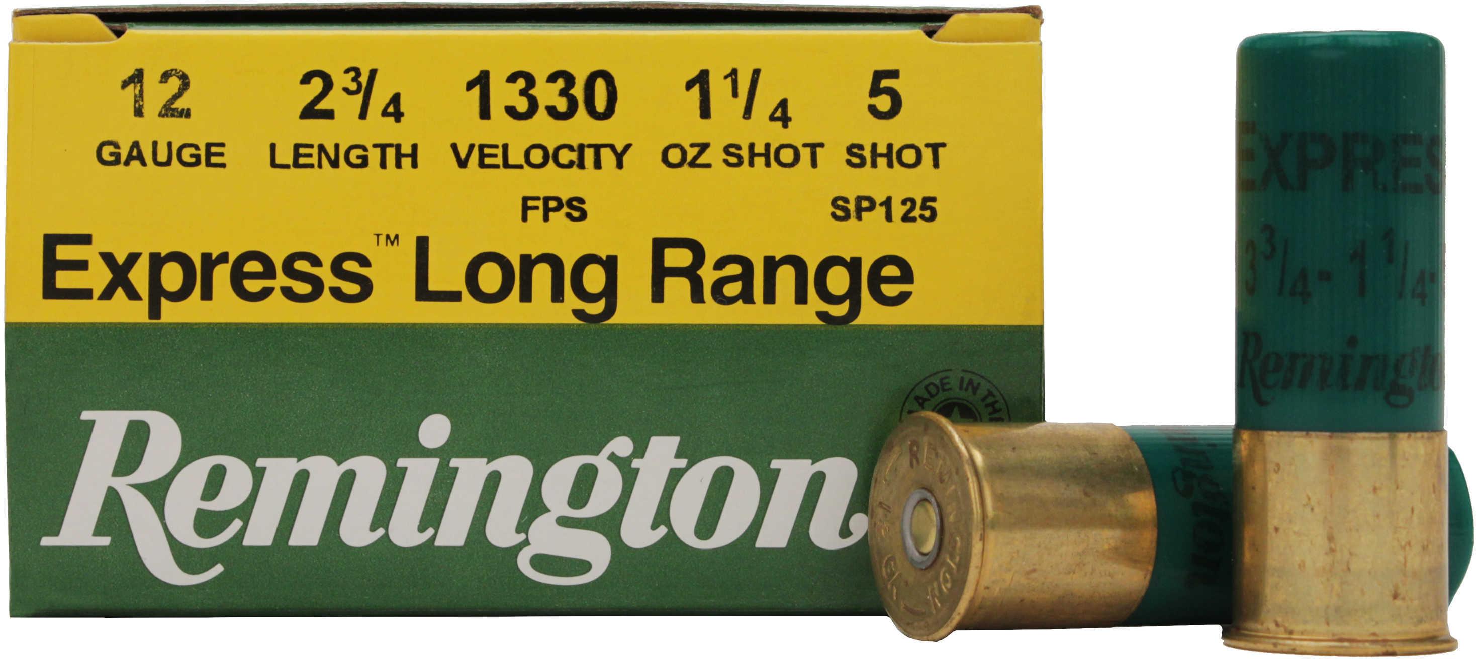 "Remington Express 12 Gauge 2 3/4"" 1 1/4Oz #5 25 Rounds Ammunition SP125"