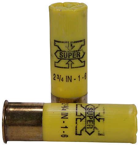 """Winchester Ammunition Super-X 20 Gauge 2.75"""" Chamber #6 2.75 Dram 1 oz. Shotshell 25 Round Box X206"""