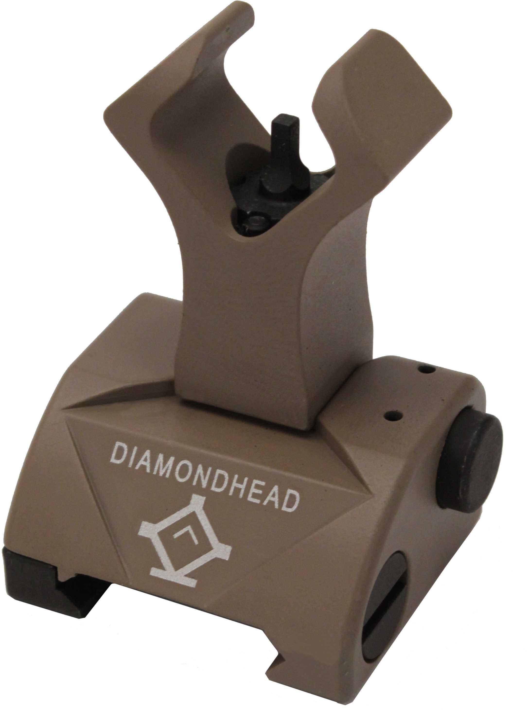 Diamondhead Diamond Sight Front Sight, Flat Dark Earth Md: 1052