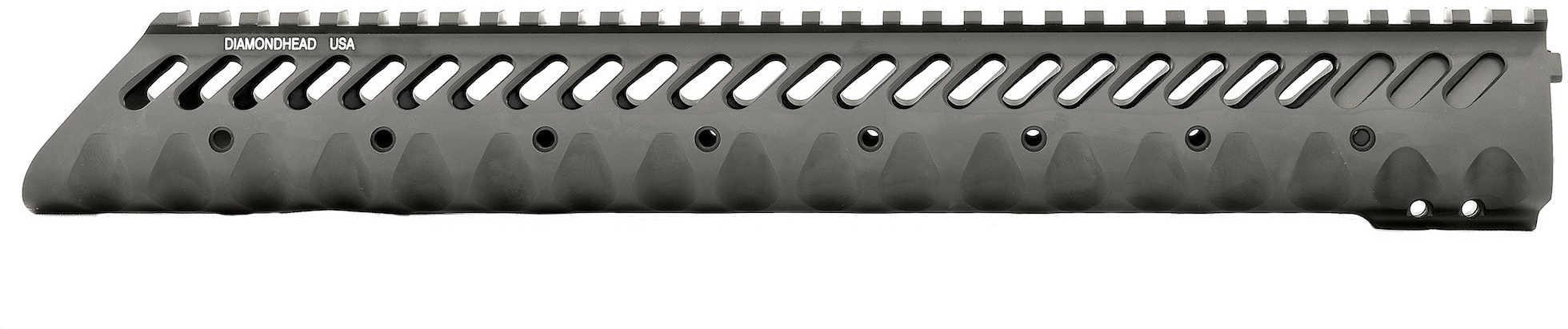"Diamondhead USA, Inc. VRS-T Free-Floating Handguard Rail Black Free Floating AR-15 13.5"" 2231"