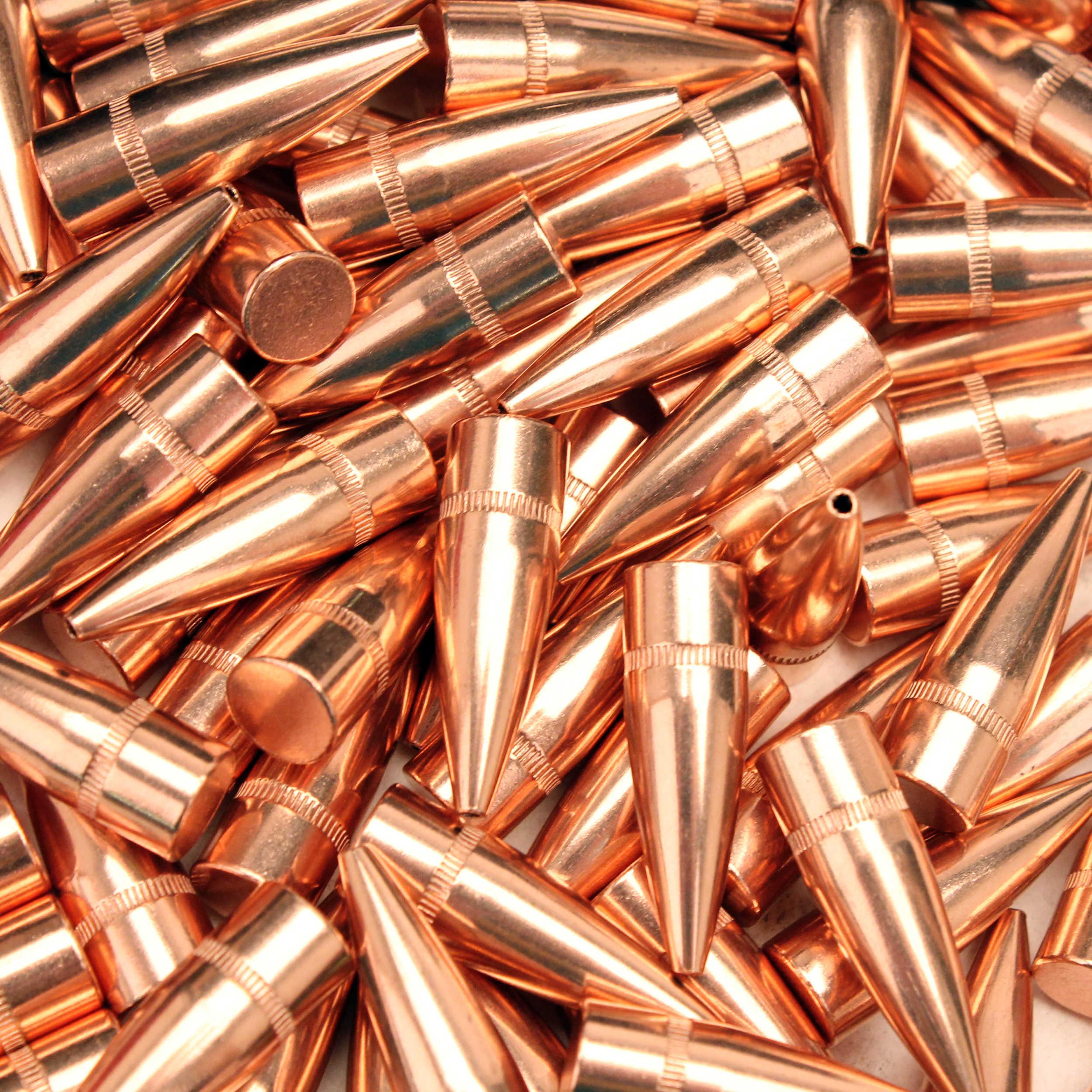 "Hornady 30 Caliber Bullets .308"", 125 Grain Hollow Point Reloading Bullets, 100 Per Box Md: 30192"