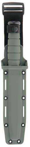 Ka-Bar US Military Fighting/Utility Knife Foliage Green, Straight Edge, Hard Sheath 2-5011-8