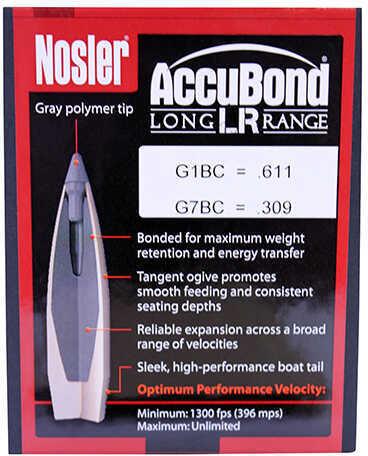 Nosler Accubond LR Bullets 7MM .284 150 Grains 100 per box