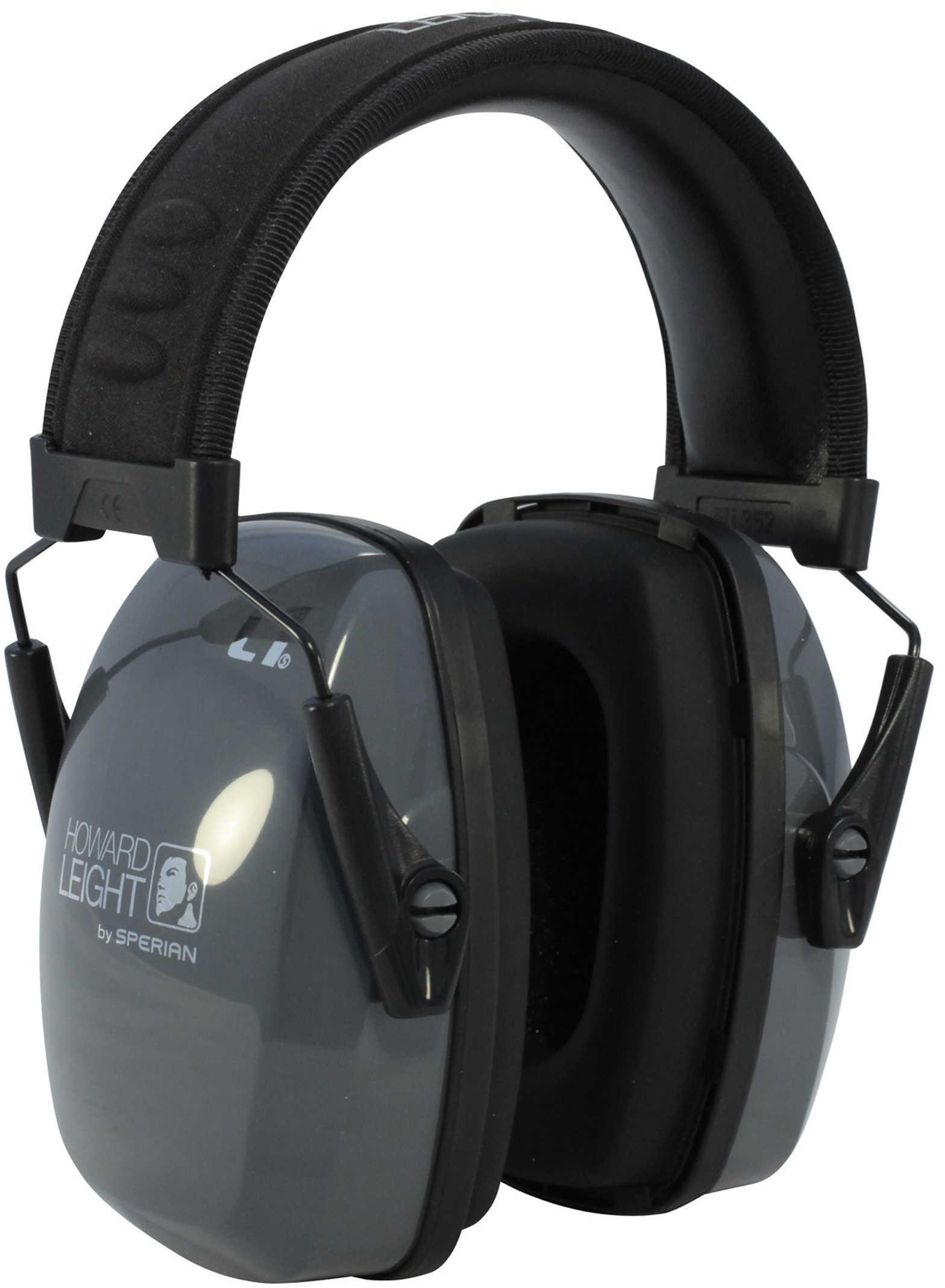 Howard Leight Industries LEIGHTNING L1 Low Profile Earmuff Black/Gray R01524