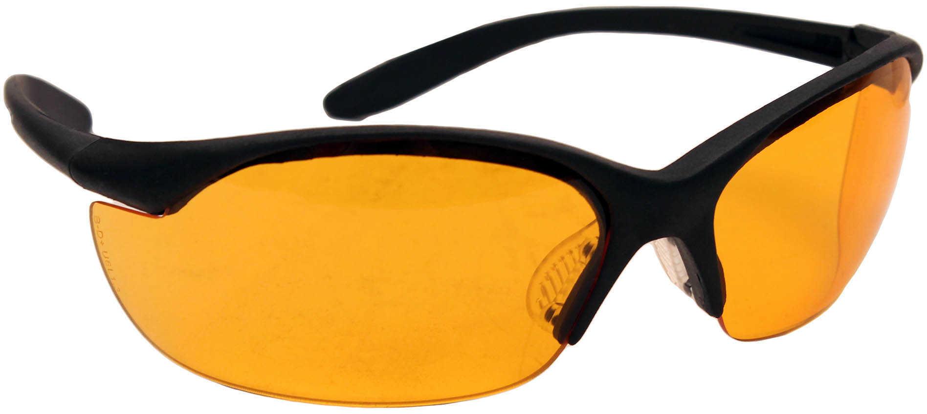 Howard Leight Industries Howard Vapor II Glasses Black Frame Orange 10 R01537