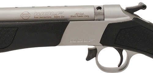 CVA Wolf .50 Caliber Muzzleloader Nothwest, Stainless Steel/Black FOS Md: PR2113S