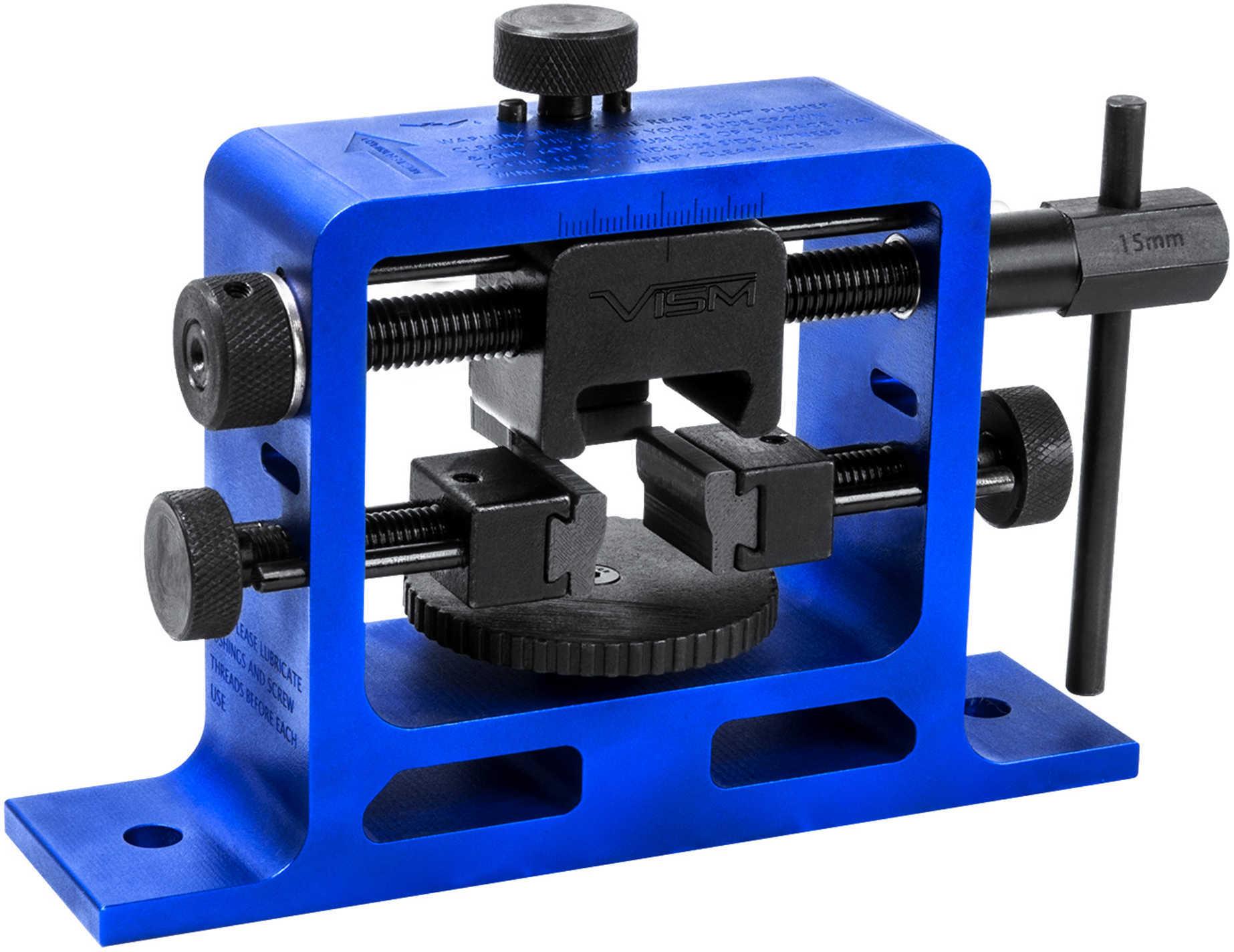 NcStar Universal Pistol Rear Sight Tool, Blue Md: VTUPRS