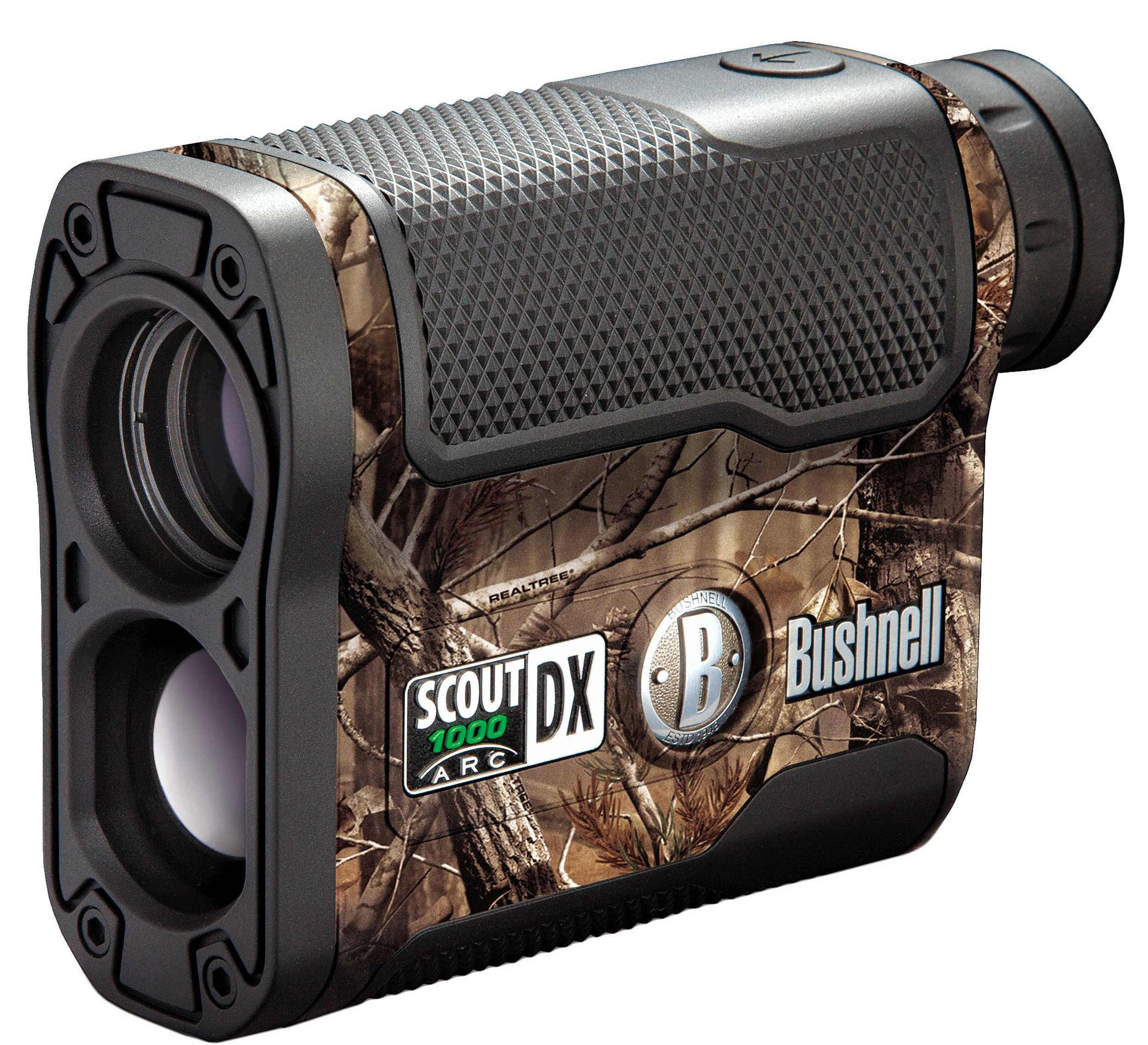 Bushnell Scout DX 1000 Rangefinder w/Angle Compensation 1000 Yds 6x20 Camo Model: 202356