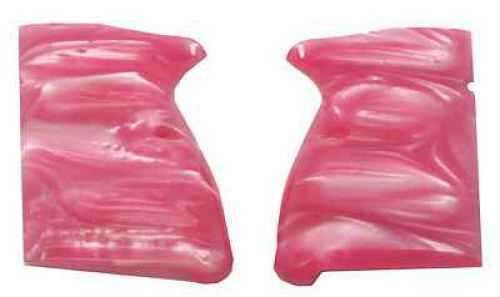 Hogue Browning Hi-Power Grip Panels Pink Pearl 09518