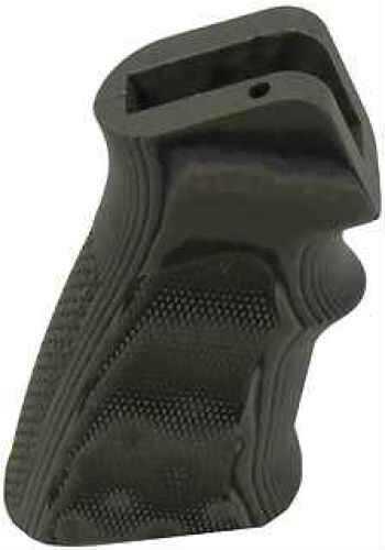 Hogue AR15 G10 Grips Checkered OD Green Camo 15178