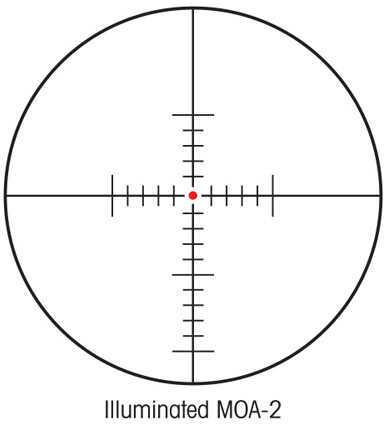 Sightron SIII 10-50x60mm Long Range Scope Illuminated MOA Reticle 25146