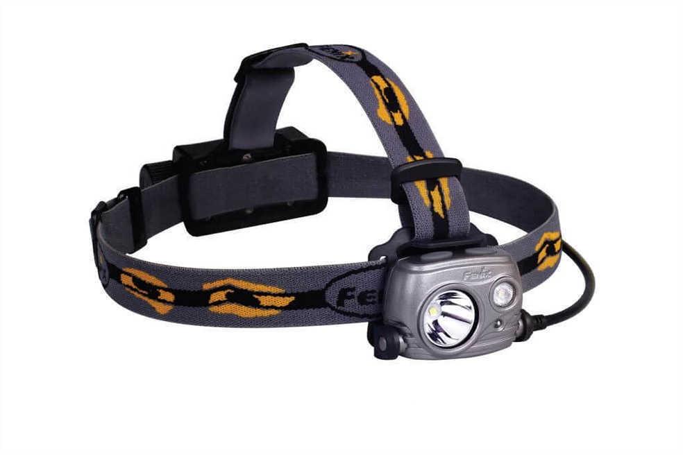 Fenix Flashlights HP25R LED Headlamp with Battery, Iron Gray Md: FX-HP25R