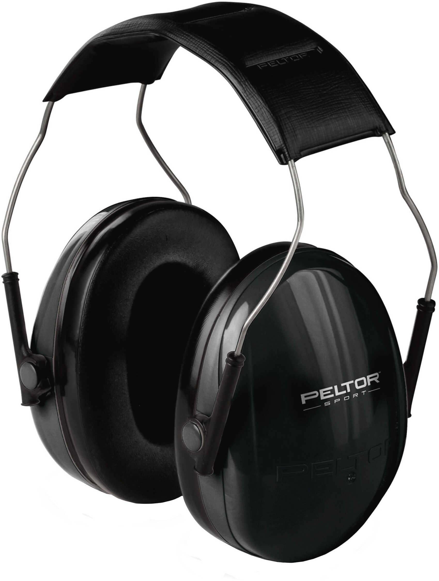 Peltor Passive Hearing Protectors Junior Earmuff Black (NRR 22dB) 97070-60000