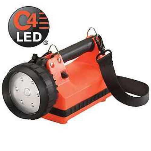 Streamlight E-Flood Standard, AC/DC Cords, Strap/Rack, Orange 45801