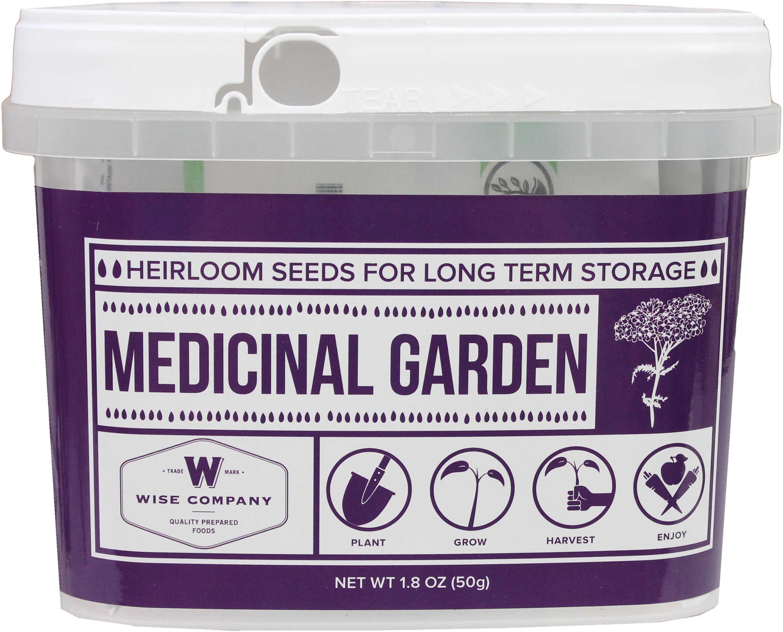 Wise Foods Medicinal Heirloom Seed Bucket Md: 01-613MV