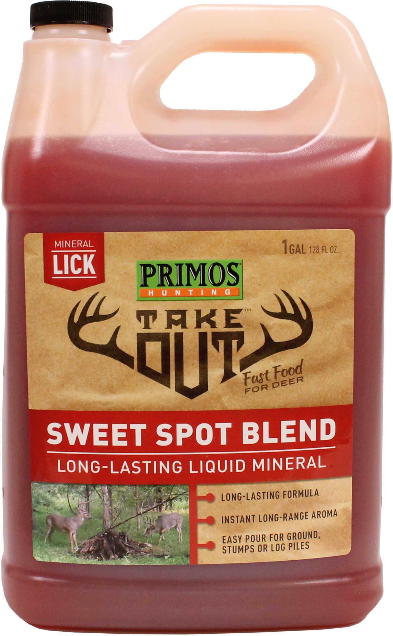 Take Out Liquid Sweet Spot Deer Attractant Liquid, 1 Gallon Md: 58733