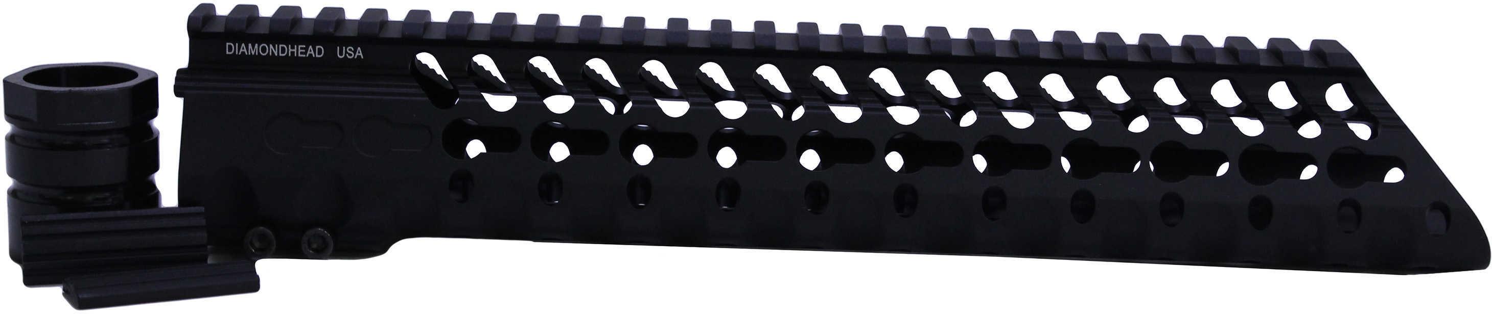 "Diamondhead USA Inc. VRS-T Free-Floating KeyMod Handguard Rail Fits AR-15 10.25"" Black Finish 2215"