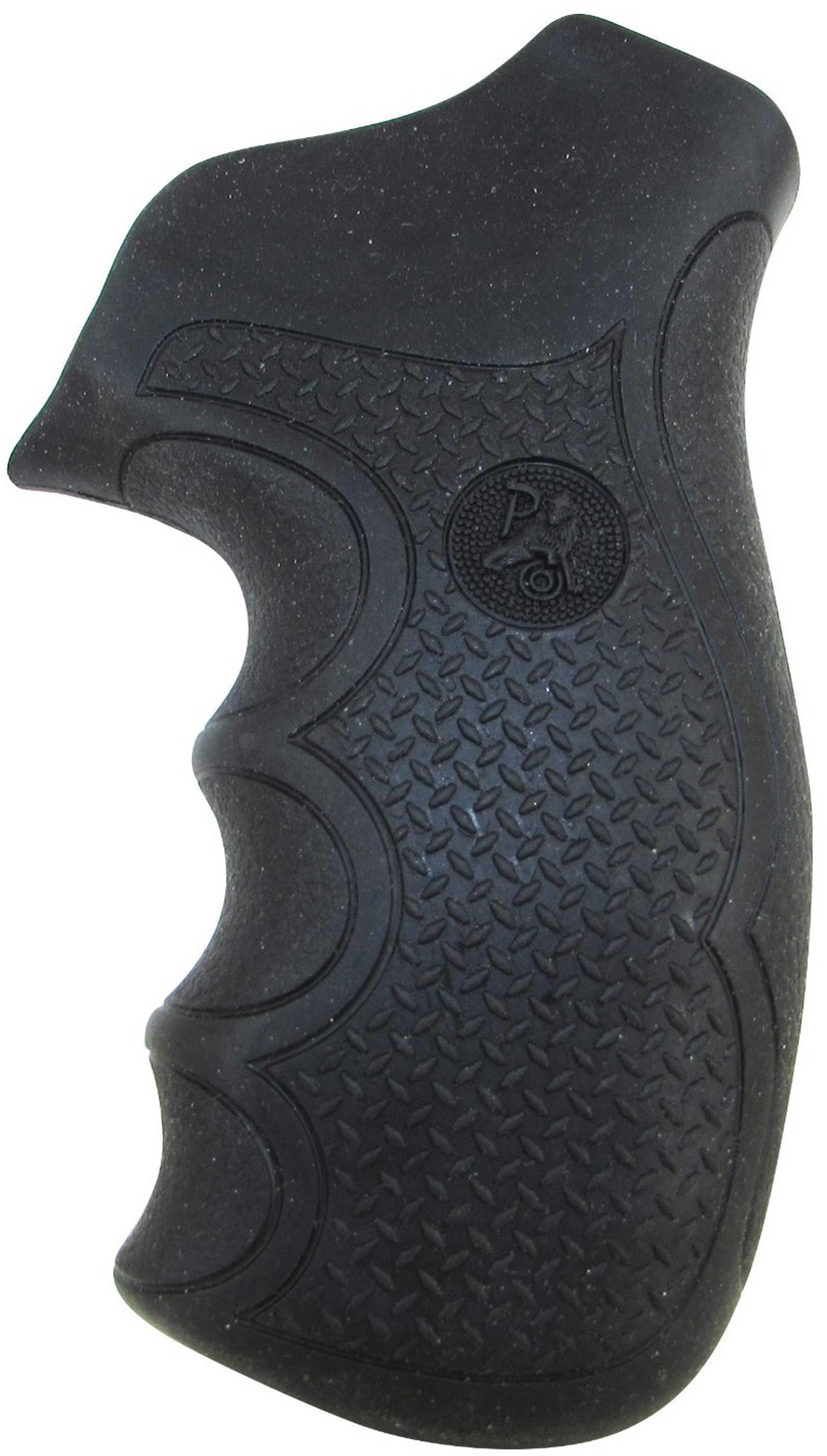 Pachmayr 02484 Diamond Pro Grip Ruger GP-100 Black Rubber