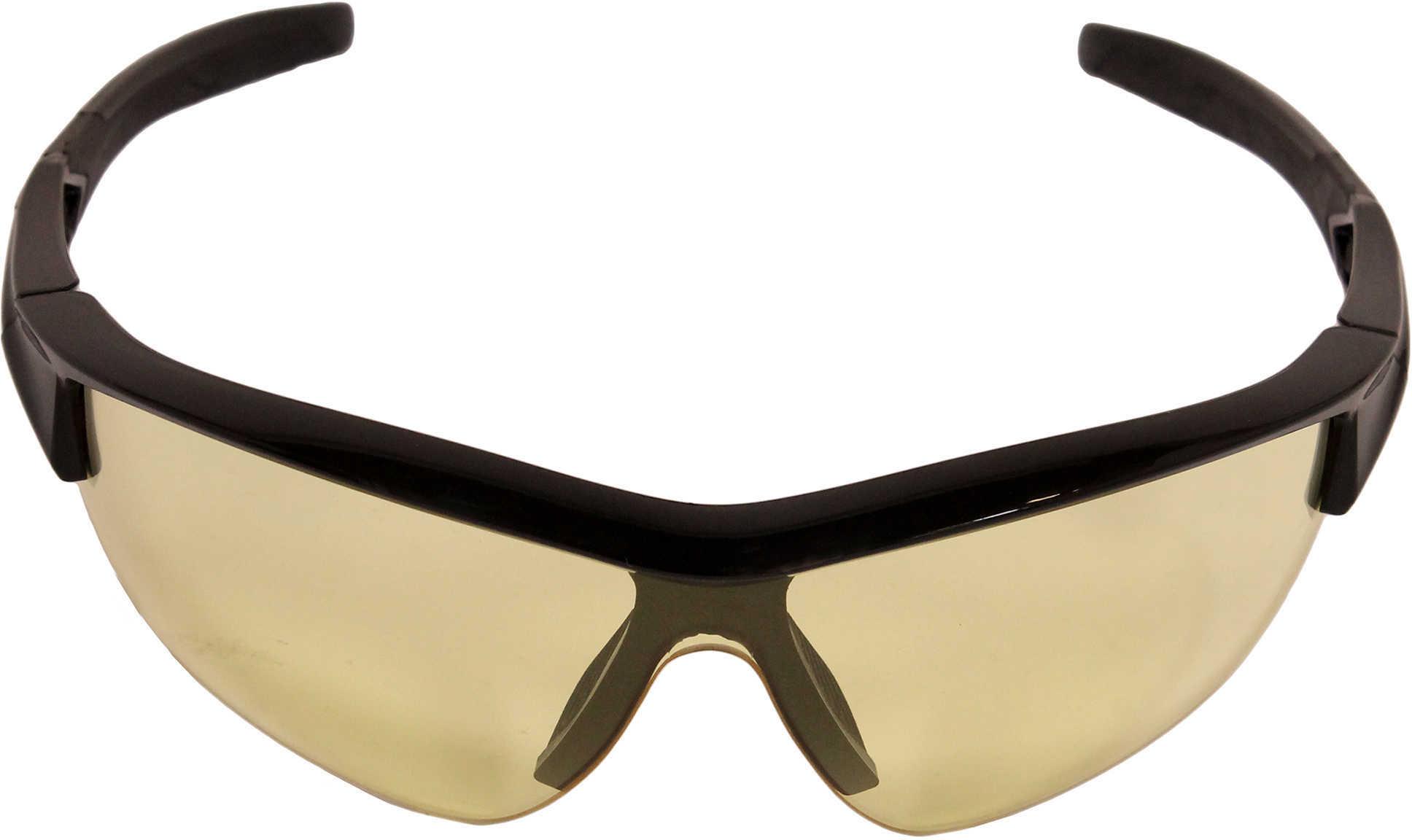 Howard LEIGHT Acadia Glasses Black Frame/Amber Lens