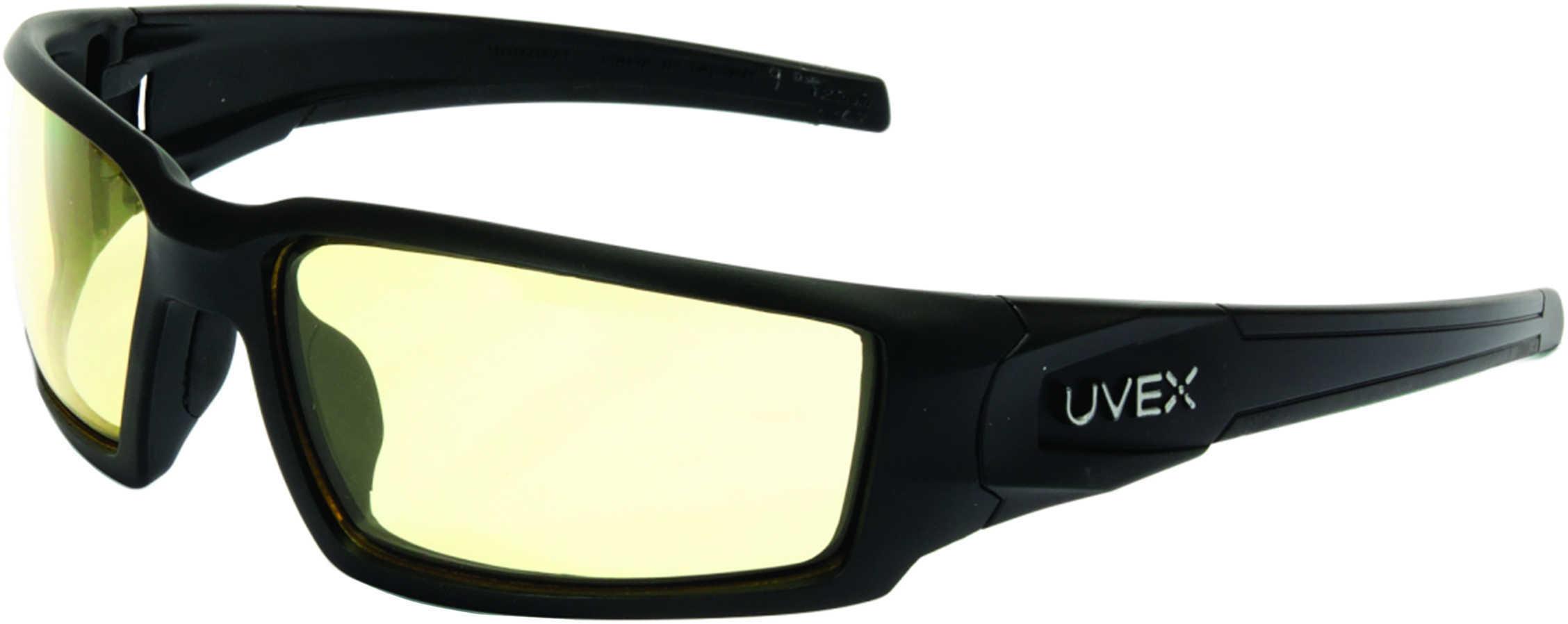 Howard Leight Hypershock Safety Eyewear w/Uvextreme Plus Anti-Fog Lens Amber Lens Md: R-02221