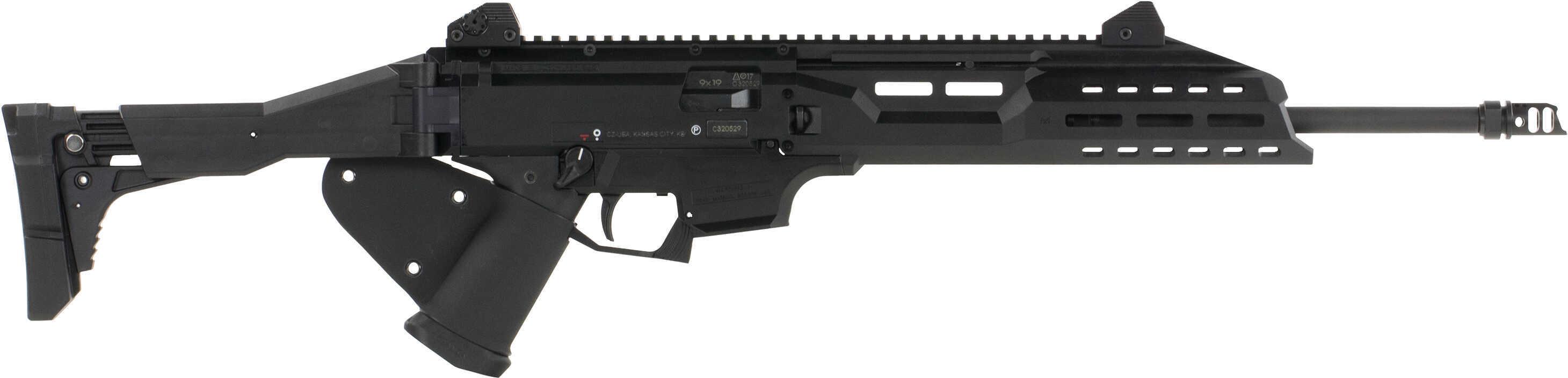 "Cz Scorpion Evo Rifle 9mm 16"" Barrel 10 Round Ca Compliant"