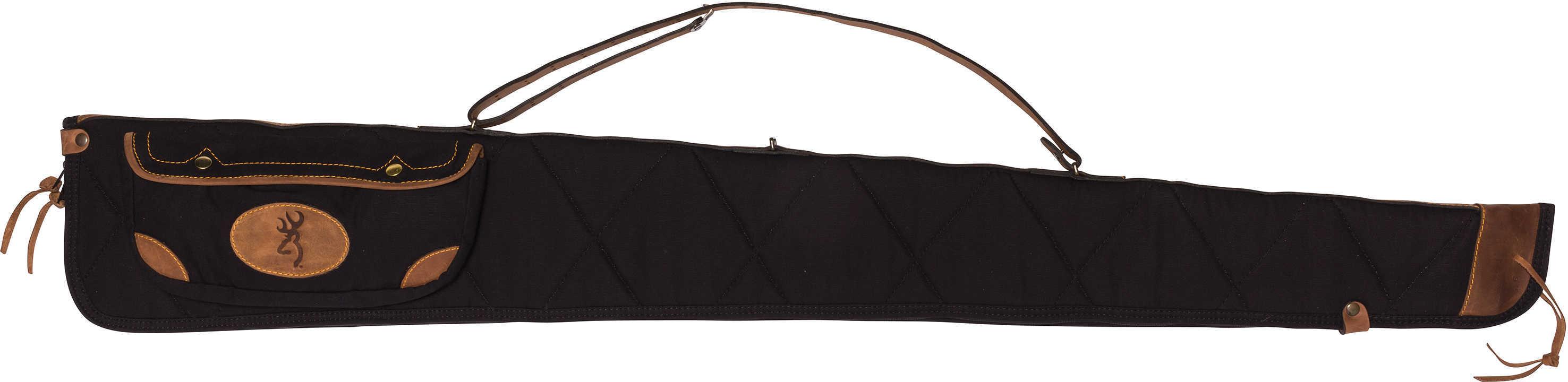 "Browning Lona Case 52"", Canvas/Leather Shotgun Case, Black/Brown Md: 1413889952"