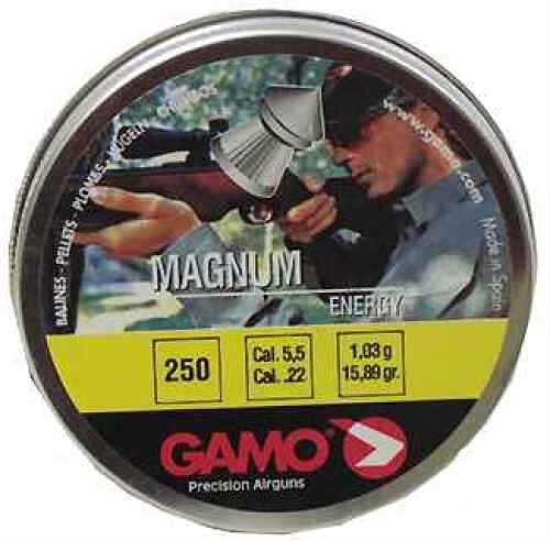 Gamo Magnum Spire Point Double Ring Per 250, .22 Caliber 632022554