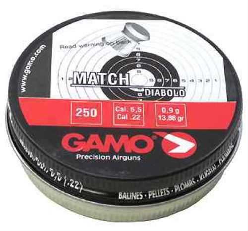 Gamo Match Pellets (Flat Nose) .22 Cal 632002554