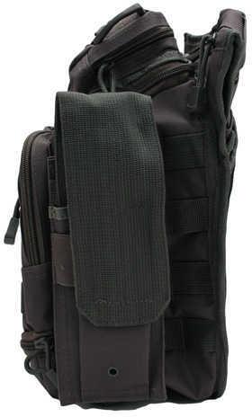 NCSTAR First Responder Utility Bag Nylon Gray MOLLE / PALS Webbing Rear Concealed Carry Pocket Shoulder Strap CVFRB2918U