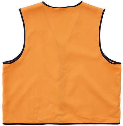 Allen Cases Deluxe Hunting Vest Large, Black Orange