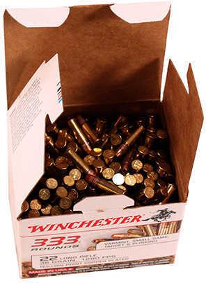 Winchester 22 Long Rifle 22 Long Rifle Bulk Copper Hollow Point (Per 333) 22LR333HP