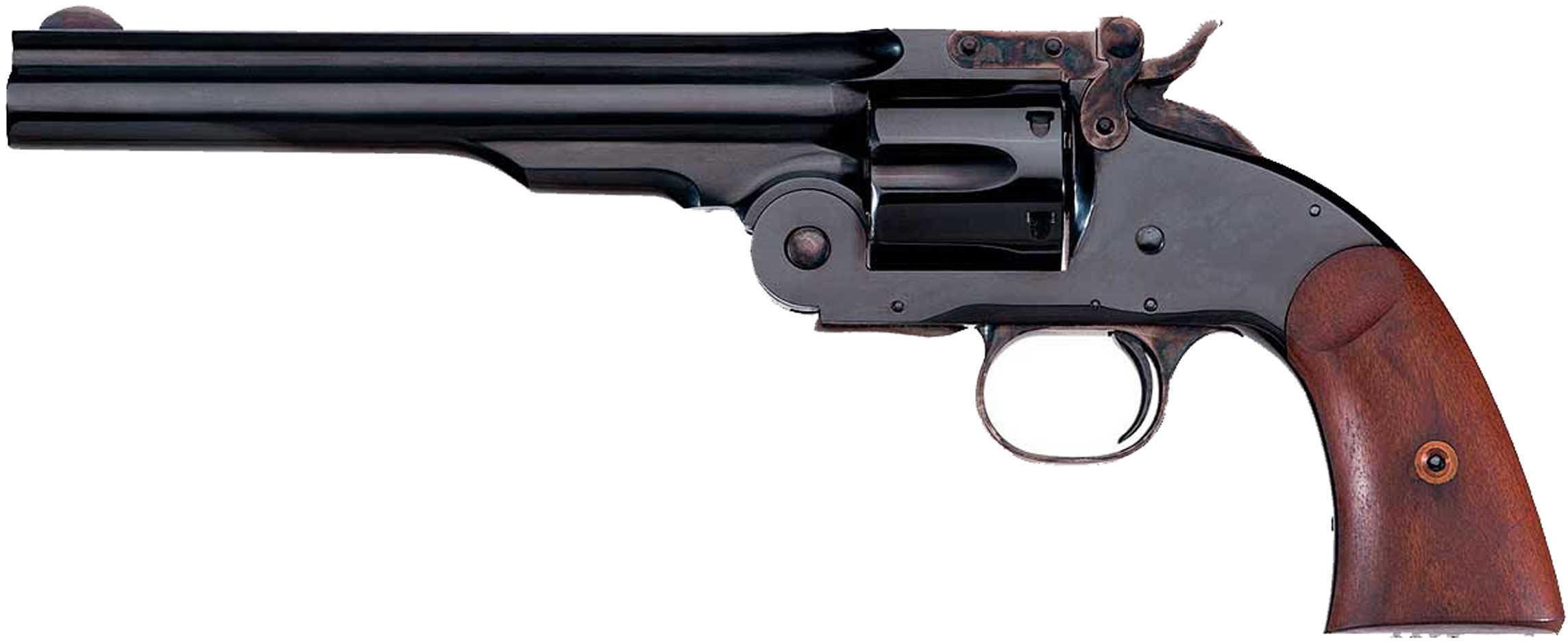 "Taylor's & Company Second Model Schofield 38 Special 7"" Barrel 6 Round Revolver"