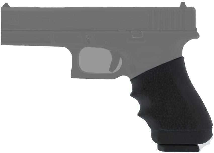 Hogue Grips HandAll Universal Grip Full Size Sleeve Fits Many Full Size Semi Auto Handguns Black 17000