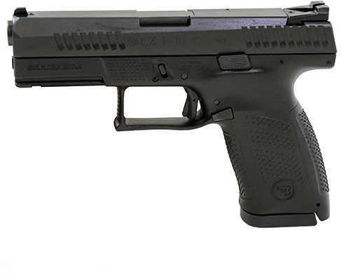 "CZ P-10 Pistol 9mm 4""Barrel Black Nitride Coating 15+1 Rounds 91520"