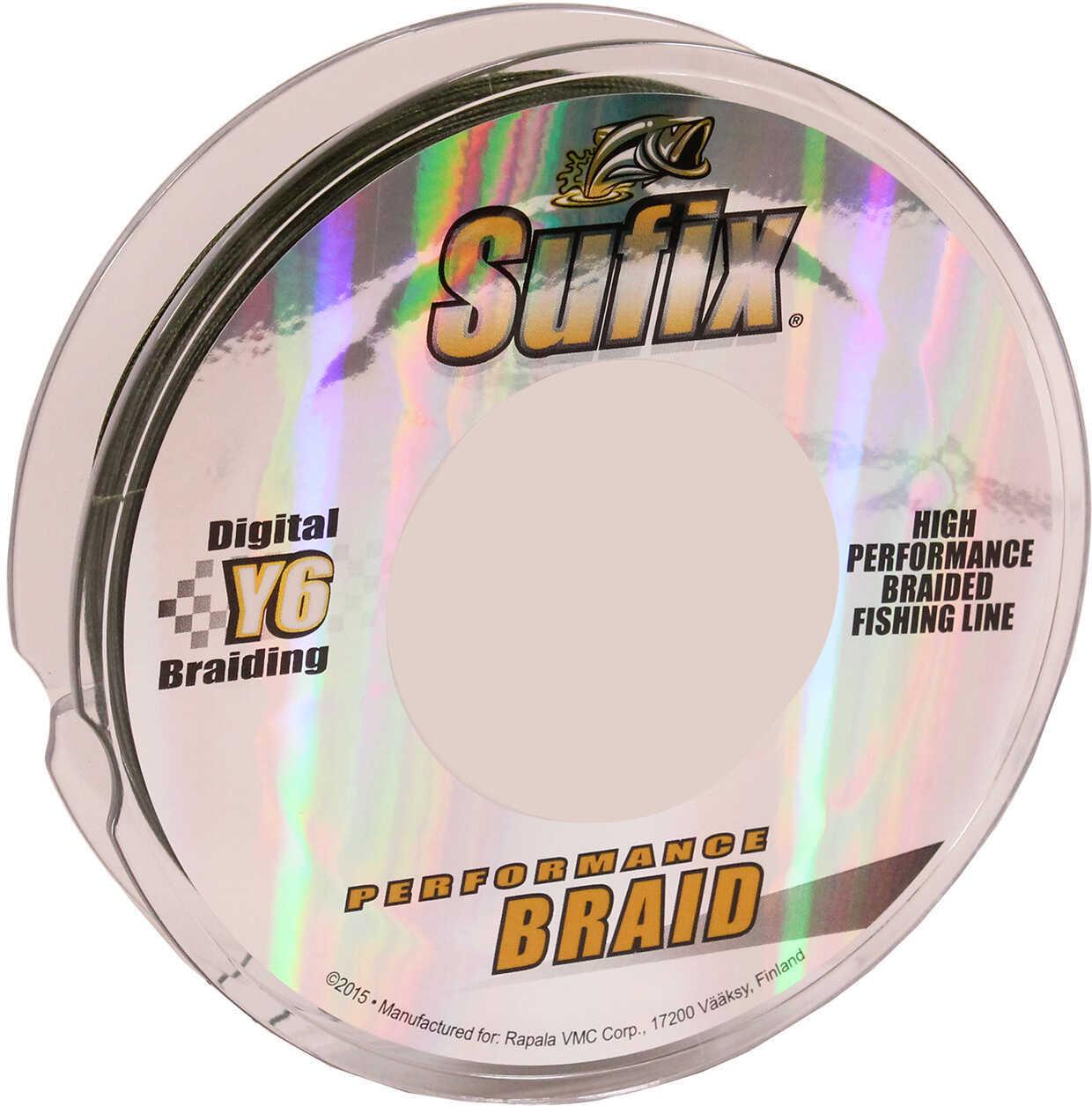 Normark Sufix Performance Braid 150yd 50lb Lo-Vis Green Md#: 663-050G