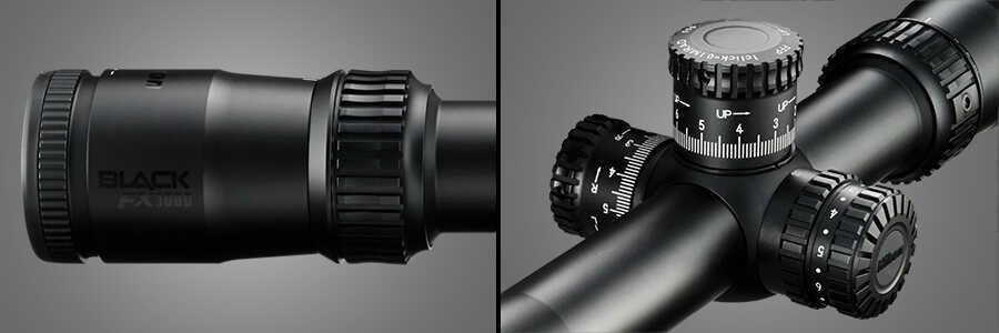 Nikon Black Fx1000 Rifle Scope 30mm Tube 4-16x50mm Side Focus First Focal Fx-moa Illuminated Reticle Matte
