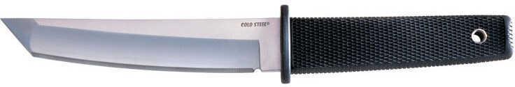 "Cold Steel Kobun Fixed Blade Knife AUS 8A/Polished Plain Tanto Point Secure-Ex Sheath 5.5"" Black Kraton Box 17T"