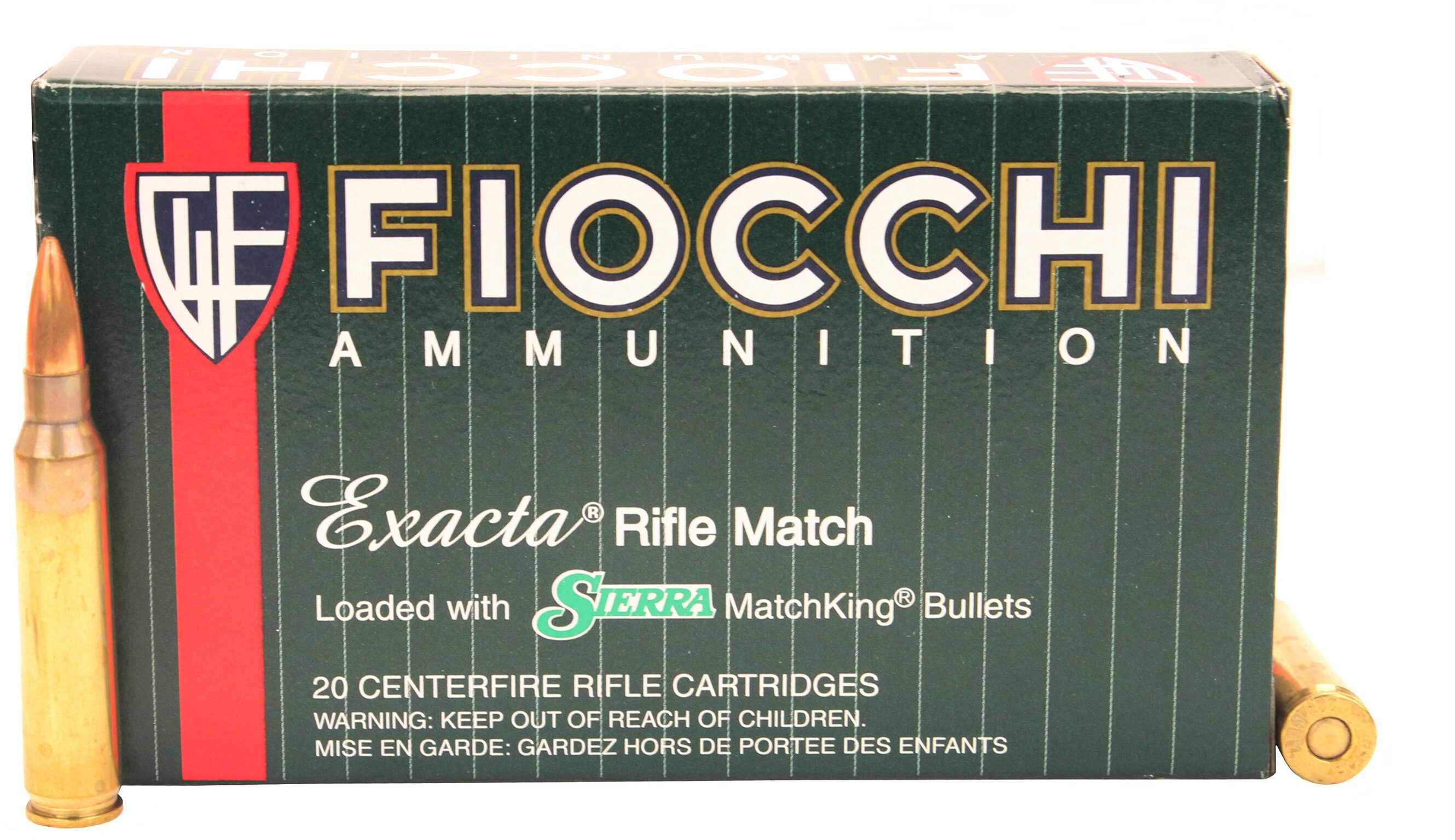 Fiocchii 223 Remington 69 Grain Sierra MatchKing Boat Tail Hollow Point 20 Rounds Per Box Ammunition 223MKC