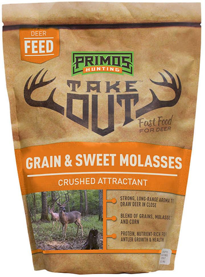 Primos Hunting Take Out Grain and Sweet Molasses, 5 lb, Bag