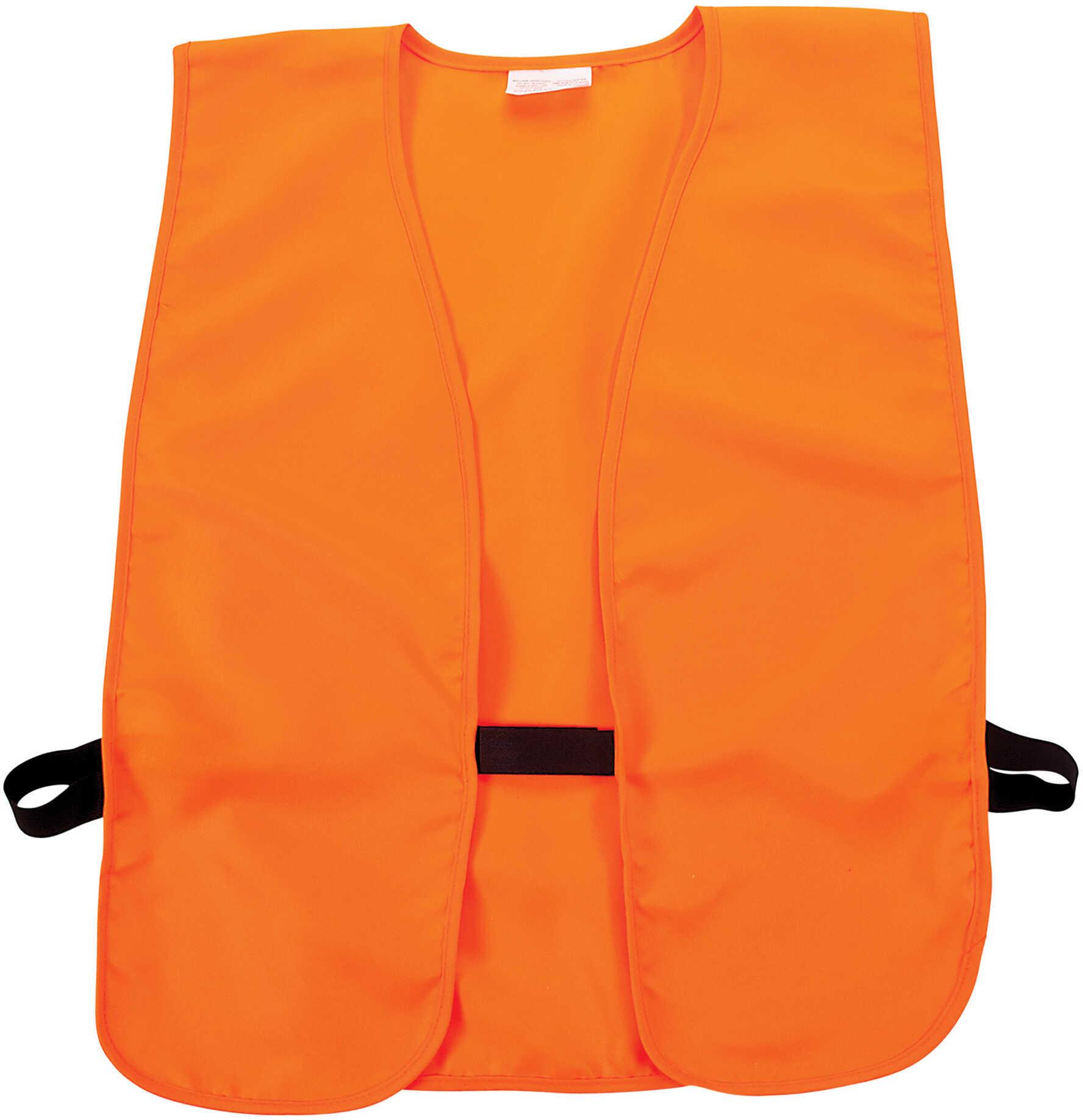 Allen Cases Adult Safety Vest Orange 15752